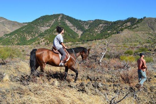 Hotel La Casona del Patio : Lo mejor del hotel, a parte de sus vistas, el paseo en caballo:)