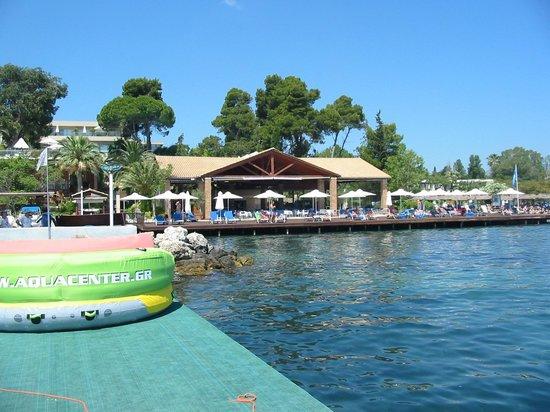 Kontokali Bay Resort and Spa: Beach bar and buffet