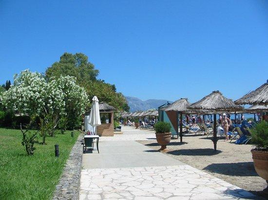 Kontokali Bay Resort and Spa: North beach