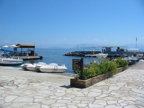 Kontokali Bay Resort and Spa: Hotel's harbour