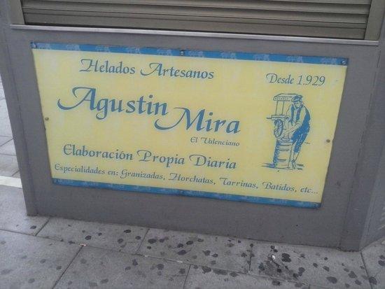 Ciudad de Zafra: quiosco helados artesanos Agustin Mira