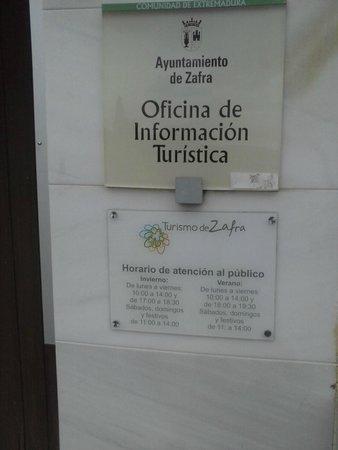 Ciudad de Zafra: Oficina de Turismo