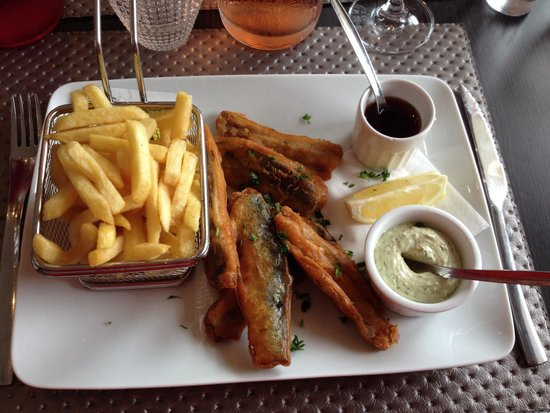 Hissez O : Chips and Fish