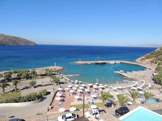 Mirabello Beach & Village Hotel : view from our balcony.
