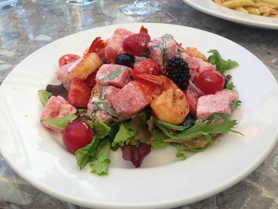 The Fixx Pasta Bar and Cafe: watermelon salad