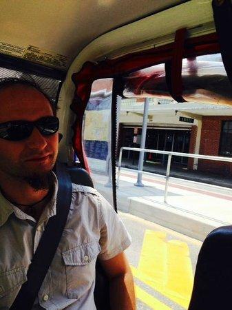 ATL-Cruzers Electric Car & Segway Tours : Passenger on the ATL-Crusers
