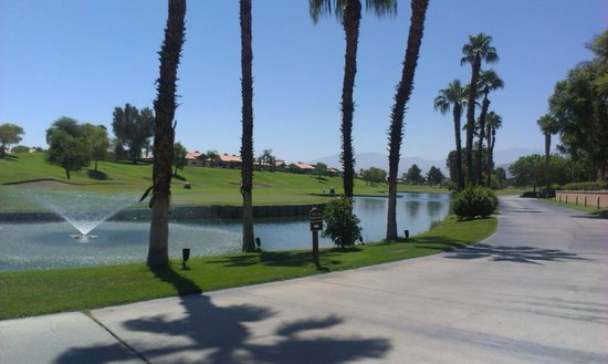 Westin Mission Hills Golf Resort & Spa: View while walking.