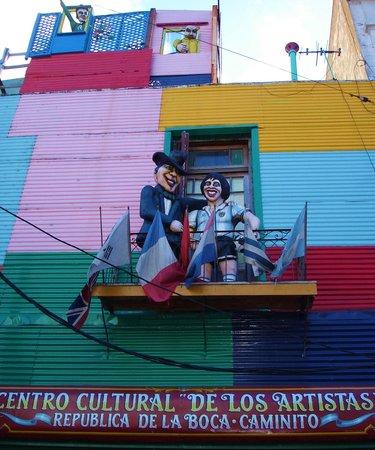 Calle Museo Caminito: Muita cor!