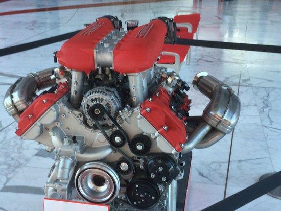 Ferrari World Abu Dhabi: Engine