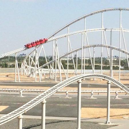 Ferrari World Abu Dhabi : World's Fastest Roler Coaster