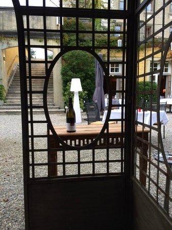 Le Chateau de Candie : Gartenrestaurant