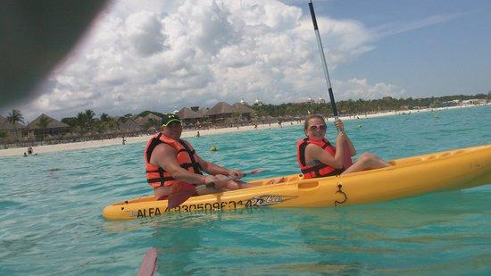 Hotel Riu Playacar: kayaks-free use