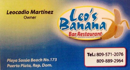 Leo's Banana