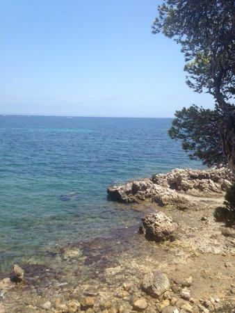 Apartotel Ponent Mar: little bay under hotel