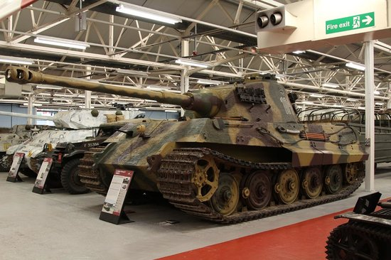 Tiger 2 Or King Tiger Picture Of The Tank Museum Bovington