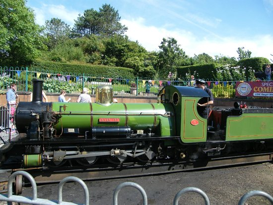 Ravenglass and Eskdale Railway: One of the steam engines
