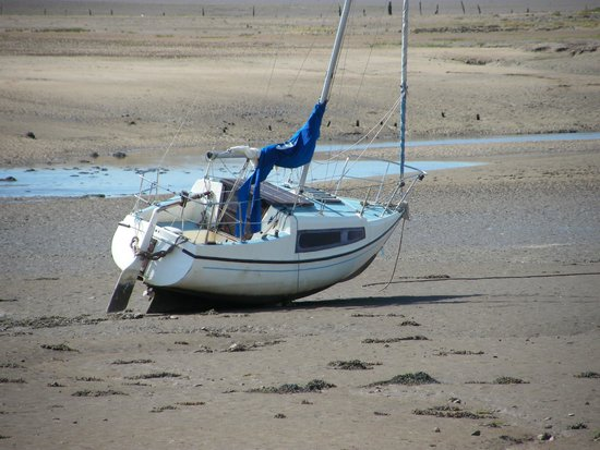 Ravenglass and Eskdale Railway: Waiting for the tide