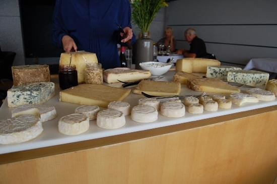 Michel Bras : Cheese platter on August 8, 2014