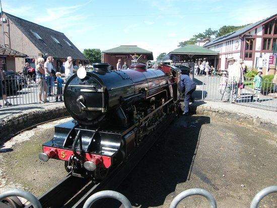 Ravenglass and Eskdale Railway: The turntable