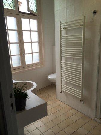 BEST WESTERN Hotel le Donjon : Big double shower