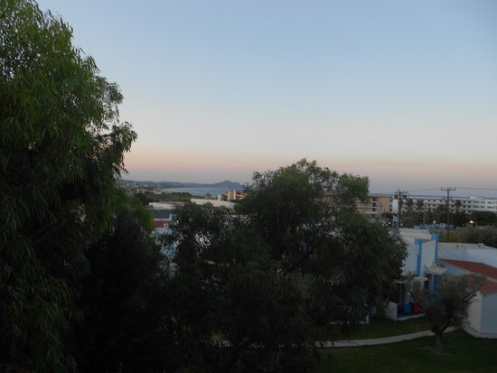 Marathon Hotel : sempre la vista dalla terrazza privata della camera