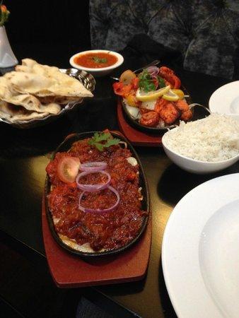 Gurkha Kitchen: Nepales Chilli Chicken and Ashkari Tandoori Vegetables