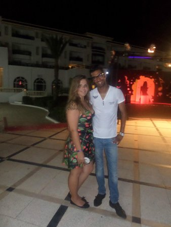 El Mouradi Palm Marina : Mohamed and I
