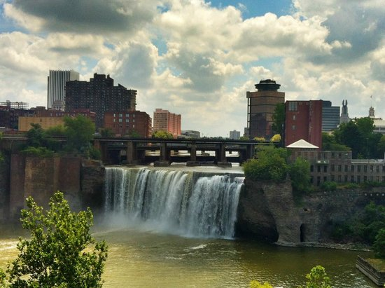 Genesee River's High Falls : High Falls, July 2012