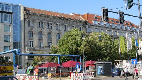 Unter den Linden en travaux