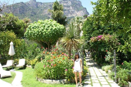 Hotel Palazzo Murat : The Gardens