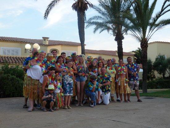 Marinda Garden Aparthotel: our hawaiin night