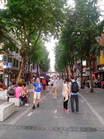 Insa-dong: Улица