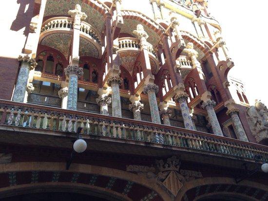 Palau de la Musica Orfeo Catala: Fachada do prédio