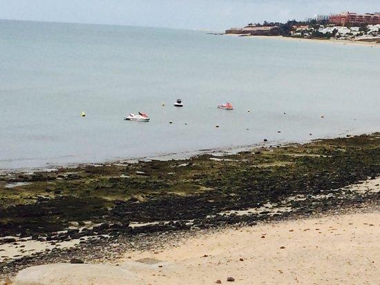 SBH Costa Calma Beach Resort: The beach they don't show you
