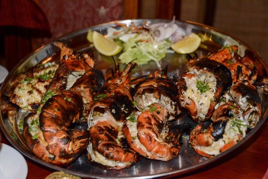 Happy Rajah: seafood for two