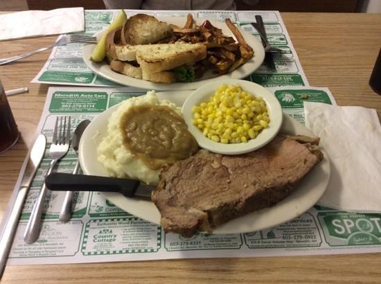 George's Diner : prime rib