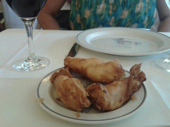 Restaurante San Ignacio: Croquetas de jamón. Riquísimas.