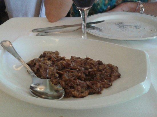 Restaurante San Ignacio: Setas de cardo a la crema. Saborazo.