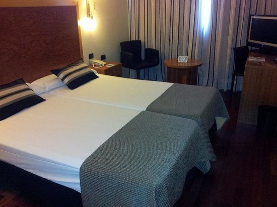 Eurostars Plaza Delicias: habitación
