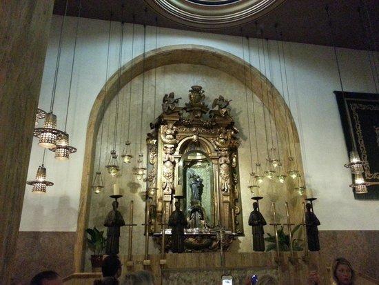 Santuari de Lluc: Inside the monastery