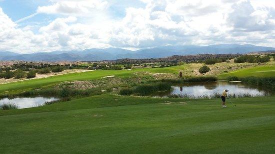 Hilton Santa Fe Buffalo Thunder: Beautiful Golf course