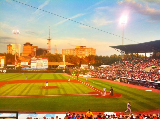 Frontier Field: Clippers vs Red Wings, August 2011
