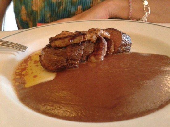 Restaurante San Ignacio: Magret al Oporto con foie plancha.