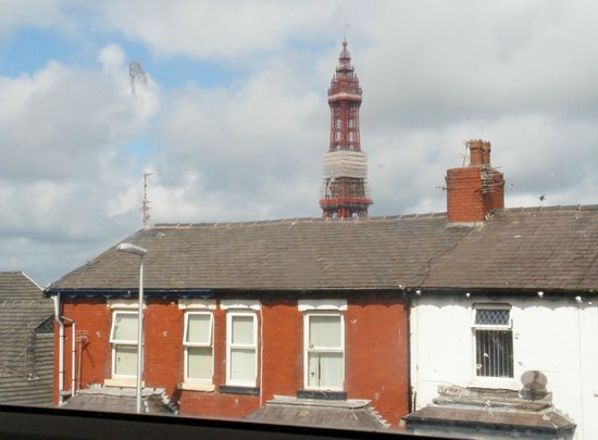 The B&B Blackpool: Room 5 is at the very top and even has a view of the Tower!