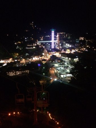 Gatlinburg Sky Lift: View from top