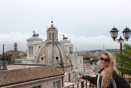 Pace Helvezia Hotel: Roof top