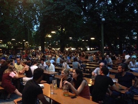 Augustiner-Keller: Garden seats 6000!