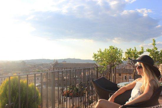 Hotel Pace Helvezia : Roof top