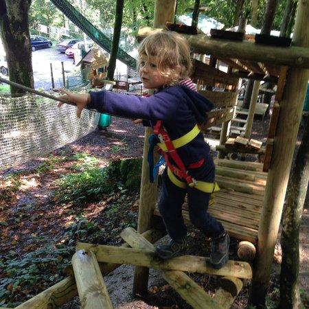 Leman Forest Parc Aventure : j'y vais!