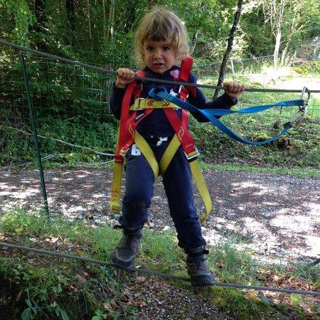 Leman Forest Parc Aventure : Ca bouge les câbles!